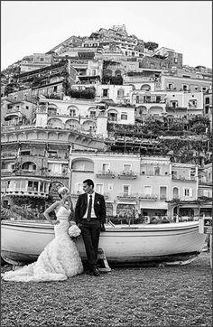 Wedding in Positano by Positano wedding photographer Alfonso Longobardi
