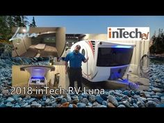 NEW 2018 inTech Luna | Mount Comfort RV Small Travel Trailers, Rv Dealerships, Teardrop Trailer, Tours, Small Camper Trailers