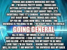 Abraham Hicks ☆ Going General
