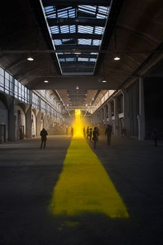 Follow the yellow brick road.  Sun path