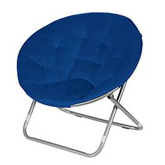 Blue Saucer Chair