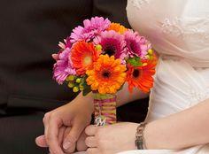 Bruidsboeket Gerbera