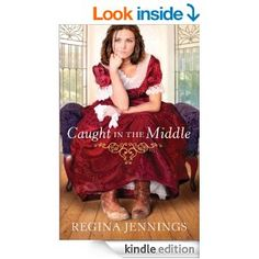 Can't believe this book is FREE!!! Caught in the Middle (Ladies of Caldwell County Book #3) by Regina Jennings  http://www.amazon.com/gp/product/B00DWA6A7M?ie=UTF8&camp=213733&creative=393177&creativeASIN=B00DWA6A7M&linkCode=shr&tag=chrisbooksrev-20&qid=1398941061&sr=8-1&keywords=caught+in+the+middle+regina