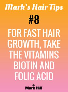Your mom always told you to take your vitamins! Hair health is boosted by key nutrients
