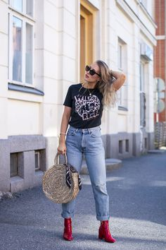 OUTFIT- Rock t-shirt