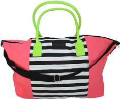 Victoria's Secret Getaway Tote bag- Neon Hot Pink 2016 Limited Edition ** Be sure to check out this awesome product. (This is an Amazon Affiliate link and I receive a commission for the sales)