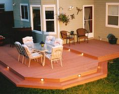 to open up and attach my 2 back decks