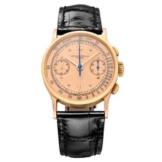 Pre-Owned Patek Philippe Chronograph Manual Rose Gold (130)