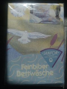 SANFOR!Feinbiber Bettwäsche!135/200cm!NEU!