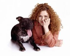 Broadway Barks, the annual pet adoption event founded by Broadway Star and animal advocate Bernadette Peters In NYC. Bernadette Peters, Dog Whisperer, Cesar Millan, Pit Bull Love, Pit Bulls, Celebs, Celebrities, Mans Best Friend, Famous People