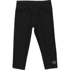 Calça Legging Jeans Infantil Feminina Preta - Jaca-Lelé :: 764 Kids | Roupa bebê e infantil