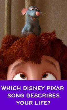 Quiz: Which Disney Pixar Song Describes Your Life? Disney Pixar, Disney Quiz, Disney Songs, Disney Quotes, Disney And Dreamworks, Disney Animation, Walt Disney, Disney And More, Disney Love