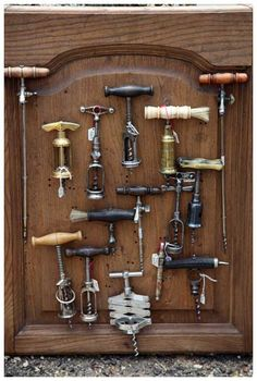 Charlotte Moss  Perfection---I collect corkscrews also!