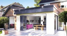 FLAT ROOF EXTENSION: design, cost, ideas