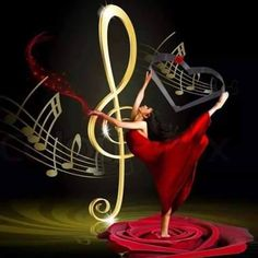 To Dance feel the Music. Music Notes Art, Music Pics, Music Artwork, Music Photo, Music Stuff, Sound Of Music, Kinds Of Music, Music Is Life, My Music