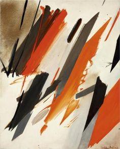 Obliquement un peu - Huguette Arthur Bertrand. (1920-2005) French.-