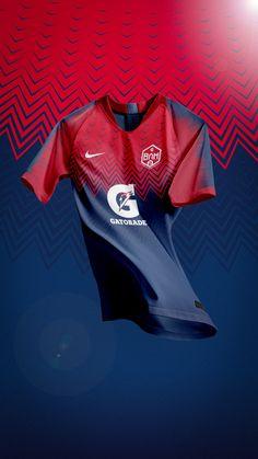 football jerseys Gatorade BAM Jerseys on Behance Sport Shirt Design, Sports Jersey Design, Polo Design, Sports Graphic Design, Football Design, Sport T Shirt, Club Football, Football Kits, Football Uniforms