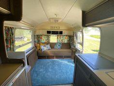 1972 Airstream Overlander 27 - Iowa, Mason City Airstream Trailers For Sale, Mason City, Airstream Remodel, Double Beds, Van Life, Iowa, Two By Two, The Unit, Flooring