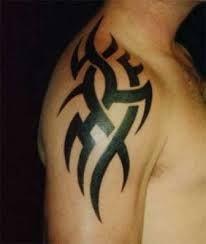 1000 images about guy tattoos on pinterest shoulder for Tribal shoulder blade tattoos