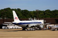 Honoring their legacy, US Airways livery now contains tributes to the past airlines that have evolved or combined to create one of the largest airlines in the US. Pictured:  Allegheny Airlines (Airbus 310)