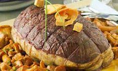 Jetez un il m daillons de bison au romarin et vin rouge - Cuisiner un roti de biche ...