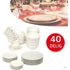 Gezien op Beslist.nl: Design Serviesset 40 Delig