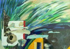 Was ist das? - (c) Elisabeth Rütsche Picasso, Collage Kunst, Collagen, Painting, Painting Art, Paintings, Draw