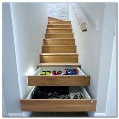 Interior Under Stairs Closet Storage Solutions Closet Storage For Small Spaces. Under Stairs Storage Containers. Under Stairs Storage Units. Stair Drawers, Stair Storage, Hidden Storage, Staircase Storage, Extra Storage, Stair Shelves, Secret Storage, Drawer Storage, Shoe Shelves