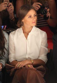 Olivia Palermo - Norisol Ferrari - Front Row - Spring 2013 Mercedes-Benz Fashion Week