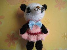 petit panda amigurumi