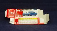TOMICA 054H SUBARU IMPREZA GDB   1/59   ORIGINAL BOX ONLY   ST0 2000 CHINA Subaru Impreza, Wrx, Subaru Cars, Diecast, Auction, China, The Originals, Tomy, Porcelain