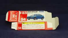 TOMICA 054H SUBARU IMPREZA GDB | 1/59 | ORIGINAL BOX ONLY | ST0 2000 CHINA