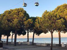 O teleférico do Parque das Nações » Tás a Ver O Teleférico de Lisboa Exterior, Lisbon, Portuguese, Cn Tower, Wanderlust, Building, Travel, 30, Instagram