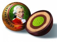 Ah, the Mozart Ball. Candy originally made in Salzburg, Austria. So delicious and oh, how I miss it!