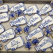 cheerleading cookies