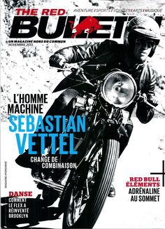 The red bulletin novembre 2013 sebastian vettel/ flex-brooklyn/ carlsen Red Bulletin, Brooklyn, Bulletins, Formula 1, F1, Racing, Decor, Products