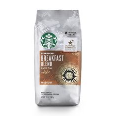 Starbucks Breakfast Blend Coffee, Whole Bean, 12-Ounce Bags (Pack of 6) ** Read more reviews of the product by visiting the link on the image. (This is an affiliate link and I receive a commission for the sales)