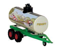 Remolque cisterna FENDT para tractores de cuerda  #momamini #juguetes #miniaturas #coleccionismo #aperoscuerda #retro