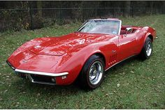 This is a photo of my 1969 Corvette Convertible that I have had since college.