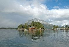 Private island home. Sitka, AK.