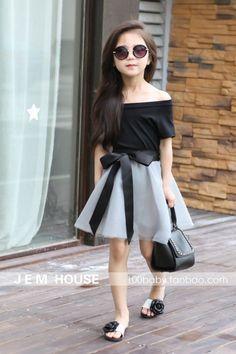 Resultado de imagen para ropa fashion para niñas grandes
