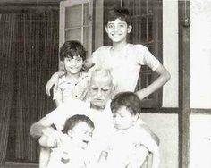 Arnab Goswami Childhood Pictures