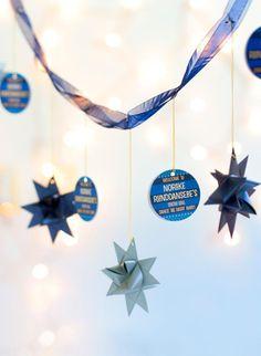 DIY STAR : DIY Froebel Star Garland