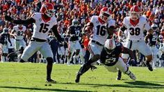 Trending News : Isaiah McKenzie's punt return lifts Georgia past A...