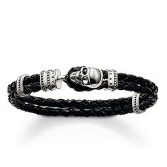 Wholesale beautiful 925 Silver leather bracelet / ,Free shipping, 925 silver bracelet JEWELRY,factory price. TH 212 $5.43