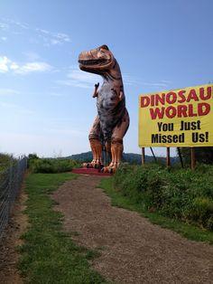 Dinosaur World Cave City KY