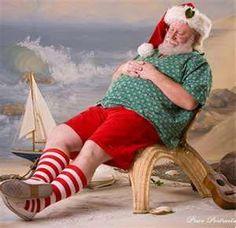 Santa rests up
