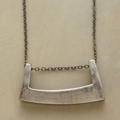 White Bronze Cast Necklace - Sundance