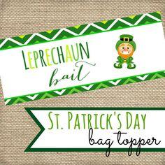 St. Patrick's Day Leprechaun Bait Printable by MyLoveforWordsShop
