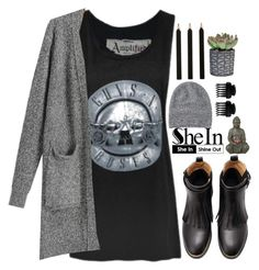 """""""#SheIn"""" by credentovideos ❤ liked on Polyvore featuring Toast, Universal Lighting and Decor and T3"""